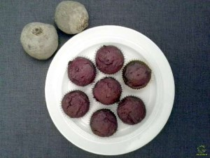 Rote-Bete-Muffins