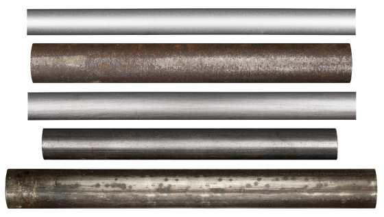 Metallrohre